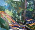 Yeo River, Spreyton I.  19 ½ x 23 ½ inches. Oil on Canvas.